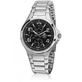 Edifice Efr-301D-1Avudf-Ex132 Silver/White Analog Watch