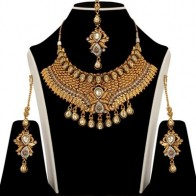Zaveri Pearls Beautiful Alloy Jewel Set