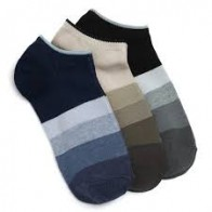 Lacarte Men's Self Design Ankle Length Socks