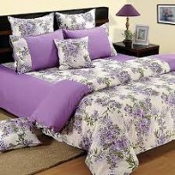 Dreamscape Cotton Floral Double Bedsheet