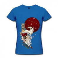 Jazzup Printed Women's Round Neck T-Shirt