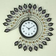 Basement Bazaar Small Butterfly Analog Wall Clock