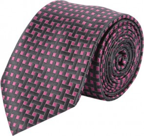 Tossido Self Design Men's Tie