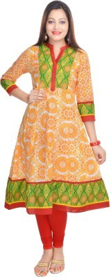 Prakhya Printed Women's Straight Kurta